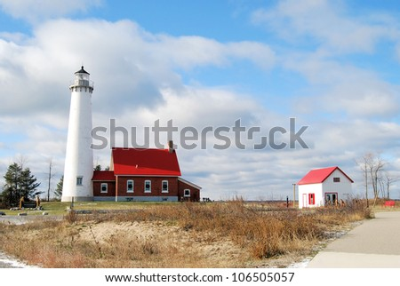 Tawas Lighthouse located in Michigan / Tawas
