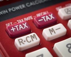 Tax on calculator