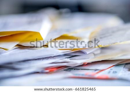 Tax, Receipt, Dokuments