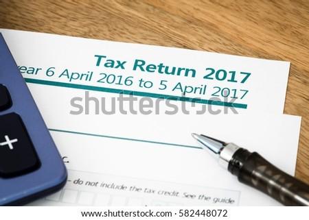 Tax return UK 2017
