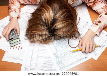 Tax, Tax Form, Frustration.