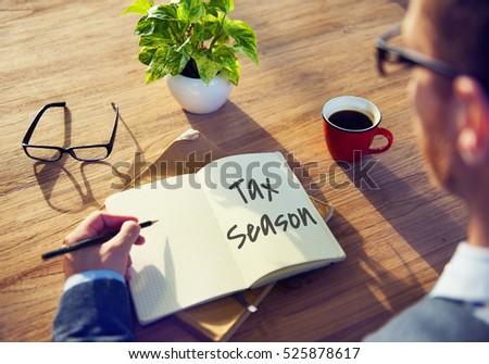 Tax Time Season Finance Concept Stock photo ©