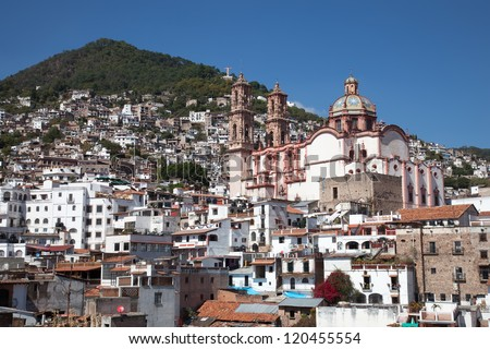 Taxco is a small city located in the Mexican state of Guerrero. #120455554