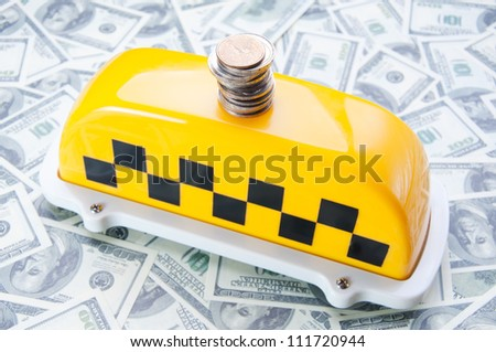 Taxi business concept - stock photo