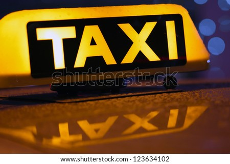 Taxi in Munich