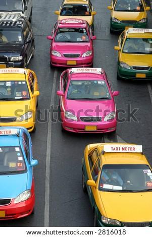 Taxi-Meter in Bangkok, Thailand