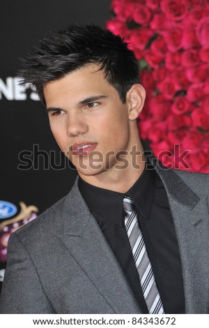 "Taylor Lautner at the world premiere of his new movie ""Valentine's Day"" at Grauman's Chinese Theatre, Hollywood. February 8, 2010  Los Angeles, CA Picture: Paul Smith / Featureflash"