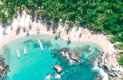 Tayrona National Park Colombia Drone View