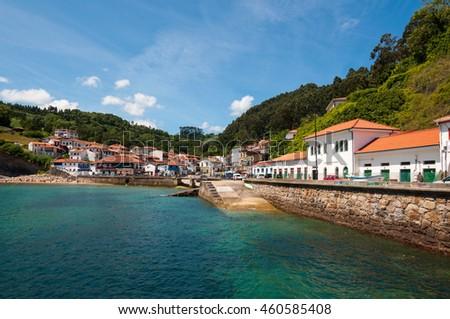 Shutterstock Tazones, Asturias, Spain
