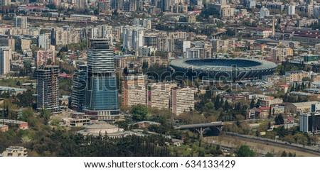 Tbilisi Urbanization II #634133429