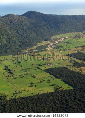 Te Wahipounamu, UNESCO Conservation Area, New Zealand