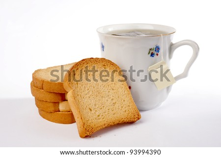 tea and rusks