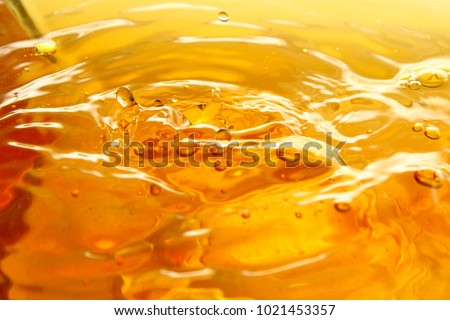 Tea droplet / A drink or beverage is a liquid intended for human consumption. In addition to their basic function of satisfying thirst, drinks play important roles in human culture. #1021453357