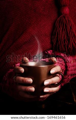 tea in hands #169461656