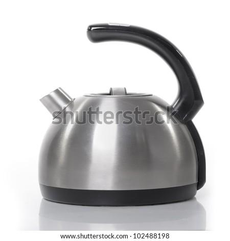 Tea kettle isolated on white background