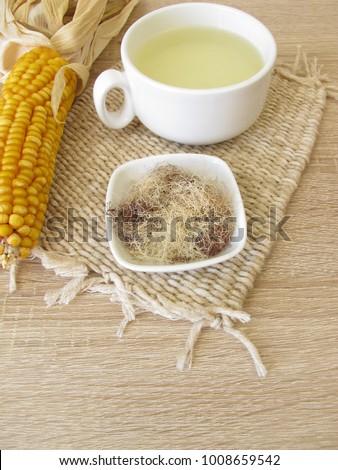 Tea with corn silk, Maydis stigma #1008659542