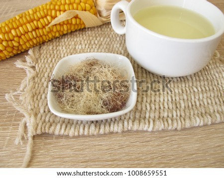 Tea with corn silk, Maydis stigma #1008659551