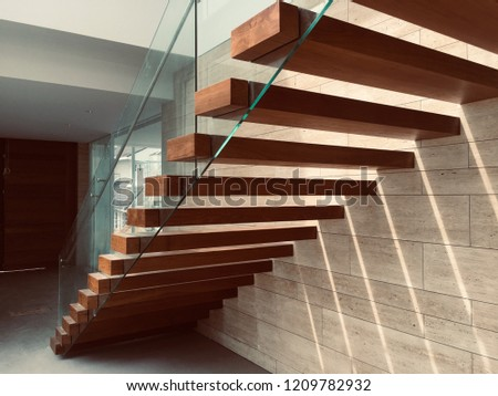 Teak Staircase, Staircase Mirror Style, Marble Style, Select Focus, Detail House Style