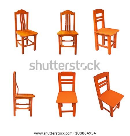 Teak tables, chairs, Thailand.