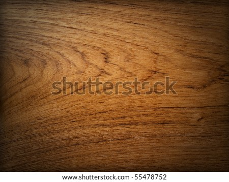Teak wood background Horizontal drop shadow