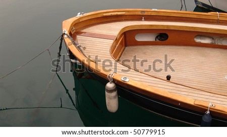 teak wood boat stock photo 50779915 shutterstock