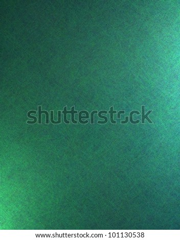 teal blue background with green lighting on side has vintage grunge background texture, elegant blue paper for brochure layout design or background for website template