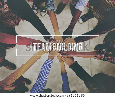 Team Building Business Collaboration Development Concept