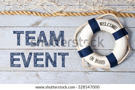 Team Event - Welcome on Board