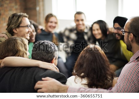 Team Huddle Harmony Togetherness Happiness Concept #360655751