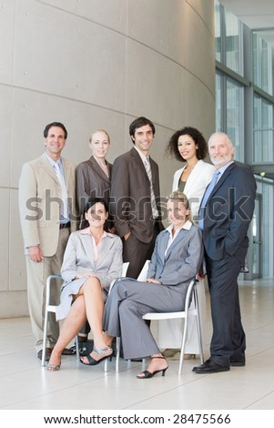 Team of business people #28475566