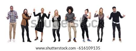 Team of full body people #616109135