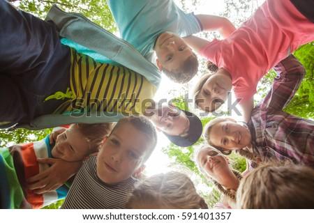 Team of summer camp #591401357