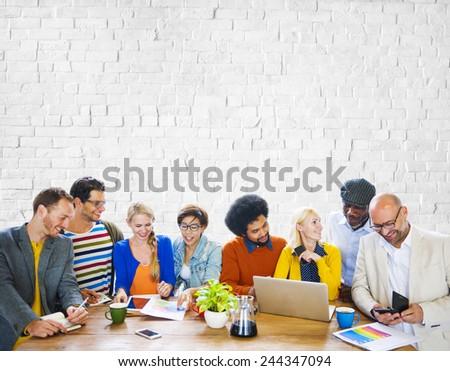 Team Teamwork Togetherness Community Connection Variation Unity Concept