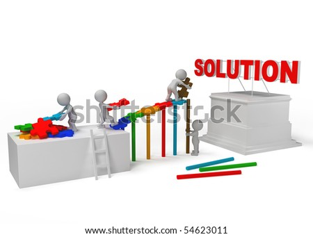 team work for solution