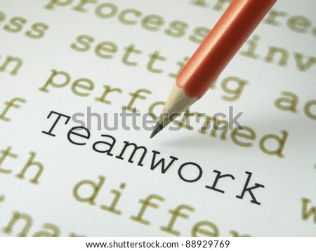 Teamwork definition
