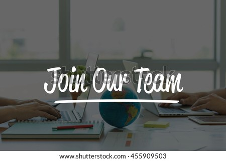 TEAMWORK OFFICE BUSINESS COMMUNICATION TECHNOLOGY  JOIN OUR TEAM GLOBAL NETWORK CONCEPT