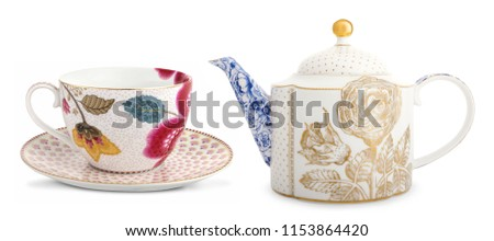 Teapot isolated on white