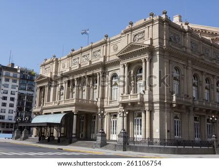 Teatro Colón, Buenos Aires, Argentina. #261106754