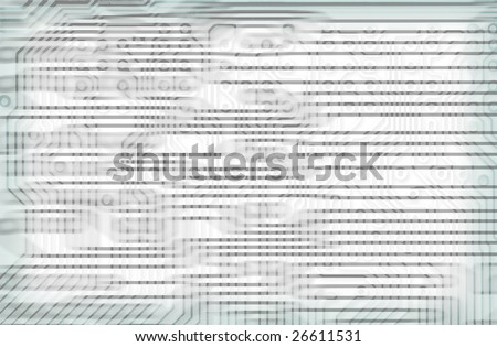 Tech industrial electronic light blue background texture