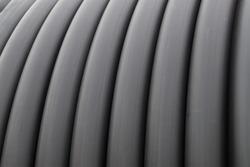 Technical rubber hose texture