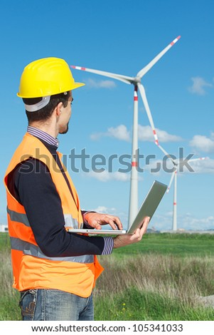 Technician Engineer in Wind Turbine Power Generator Station,italy