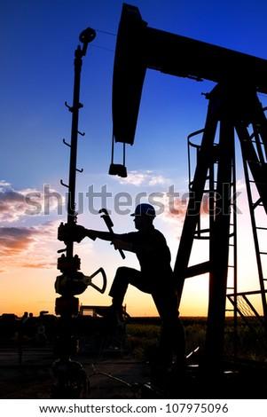 Technique for oil in a landscape