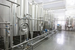 Technological equipment in modern  dairy plant