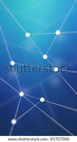Technology and science background