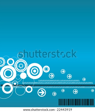 Technology Background - Raster Version (Available in Blue and Green)