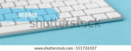 TECHNOLOGY CONCEPT BANNER: WEBINAR #551726107