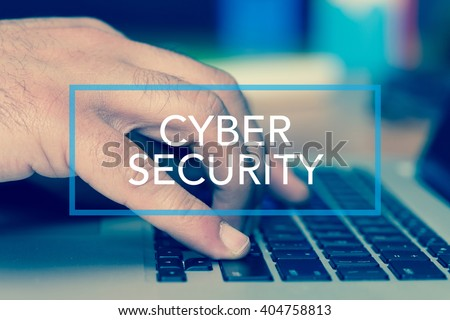 Technology Concept: CYBER SECURITY