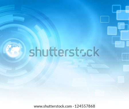 Technology Energy Background