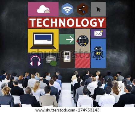 Technology Social Media Networking Online Digital Concept