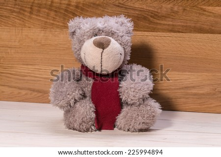 Teddy bear, a stuffed toy bear